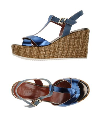 Фото - Женские сандали F.LLI BRUGLIA синего цвета