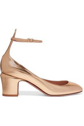 VALENTINO Tango metallic leather pumps