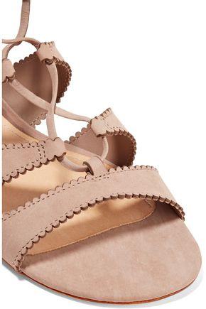 SCHUTZ Thea suede gladiator sandals