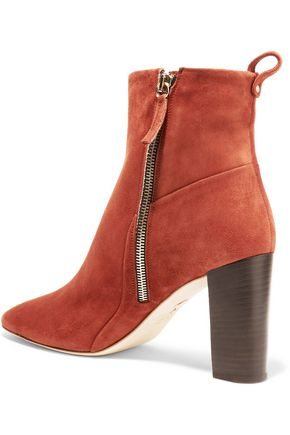 CHELSEA PARIS Tess suede ankle boots
