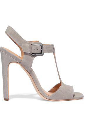 HALSTON HERITAGE Vera suede T-bar sandals
