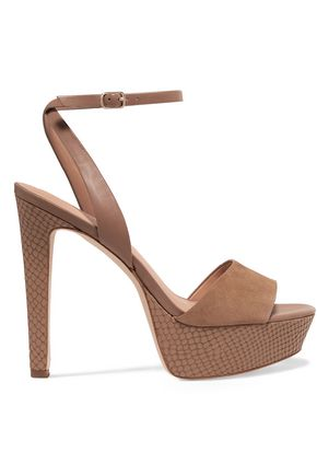 HALSTON HERITAGE Bobbie suede sandals