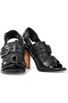 ALEXANDER WANG Edda studded leather sandals