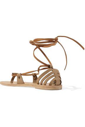 VALIA GABRIEL Crosby nubuck sandals