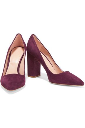 IRIS AND INK Suede pumps