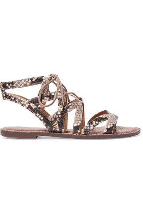 SAM EDELMAN Gemma suede sandals