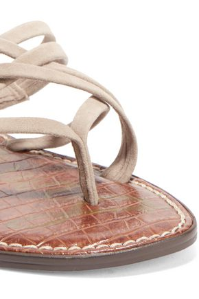 SAM EDELMAN Suede sandals