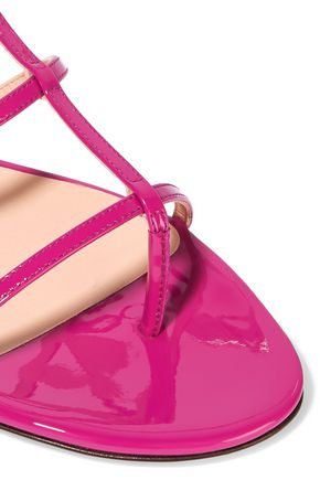 JIMMY CHOO Doodle patent-leather sandals
