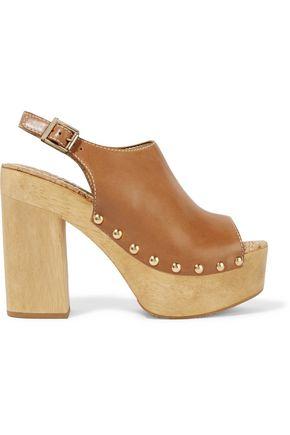 SAM EDELMAN Camilla leather platform sandals