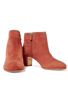 RUPERT SANDERSON Honeycup suede ankle boots