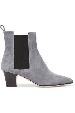 RUPERT SANDERSON Frances suede boots