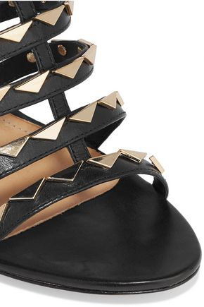 SCHUTZ Studded leather sandals