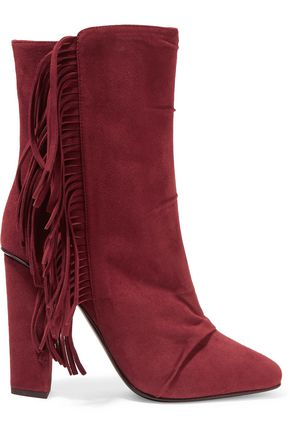 GIUSEPPE ZANOTTI DESIGN Fringed suede boots