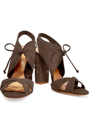 SCHUTZ Gracy suede sandals
