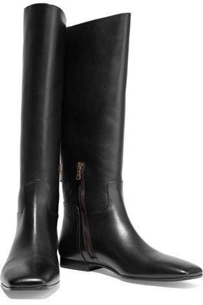 TOMAS MAIER Leather knee boots