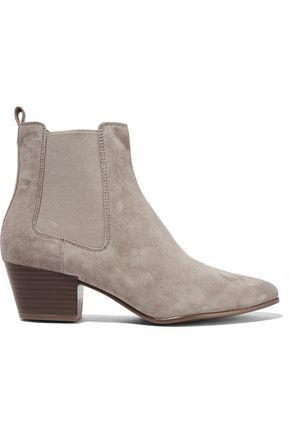 ff7b62f47234f Sam Edelman Woman Reesa Suede Ankle Boots Mushroom ...