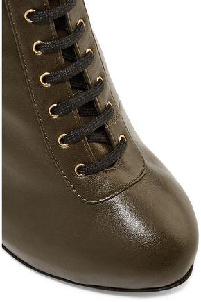 GIUSEPPE ZANOTTI DESIGN Leather ankle boots