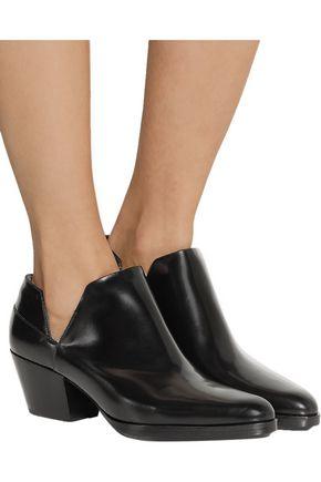3.1 PHILLIP LIM Dolores cutout leather ankle boots