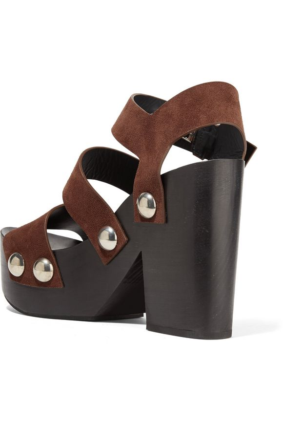 Tess suede platform sandals | ALEXANDER WANG | Sale up to 70% off | THE  OUTNET