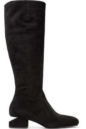 ALEXANDER WANG Ashton suede knee boots