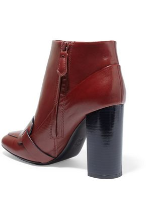 TORY BURCH Bond leather ankle boots