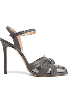 MAISON MARGIELA Paneled knotted leather sandals