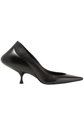 MAISON MARGIELA Textured-leather pumps