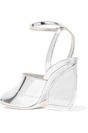 MAISON MARGIELA Mirrored-leather sandals