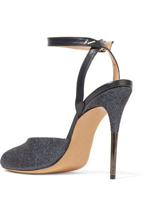 MAISON MARGIELA Glittered leather sandals