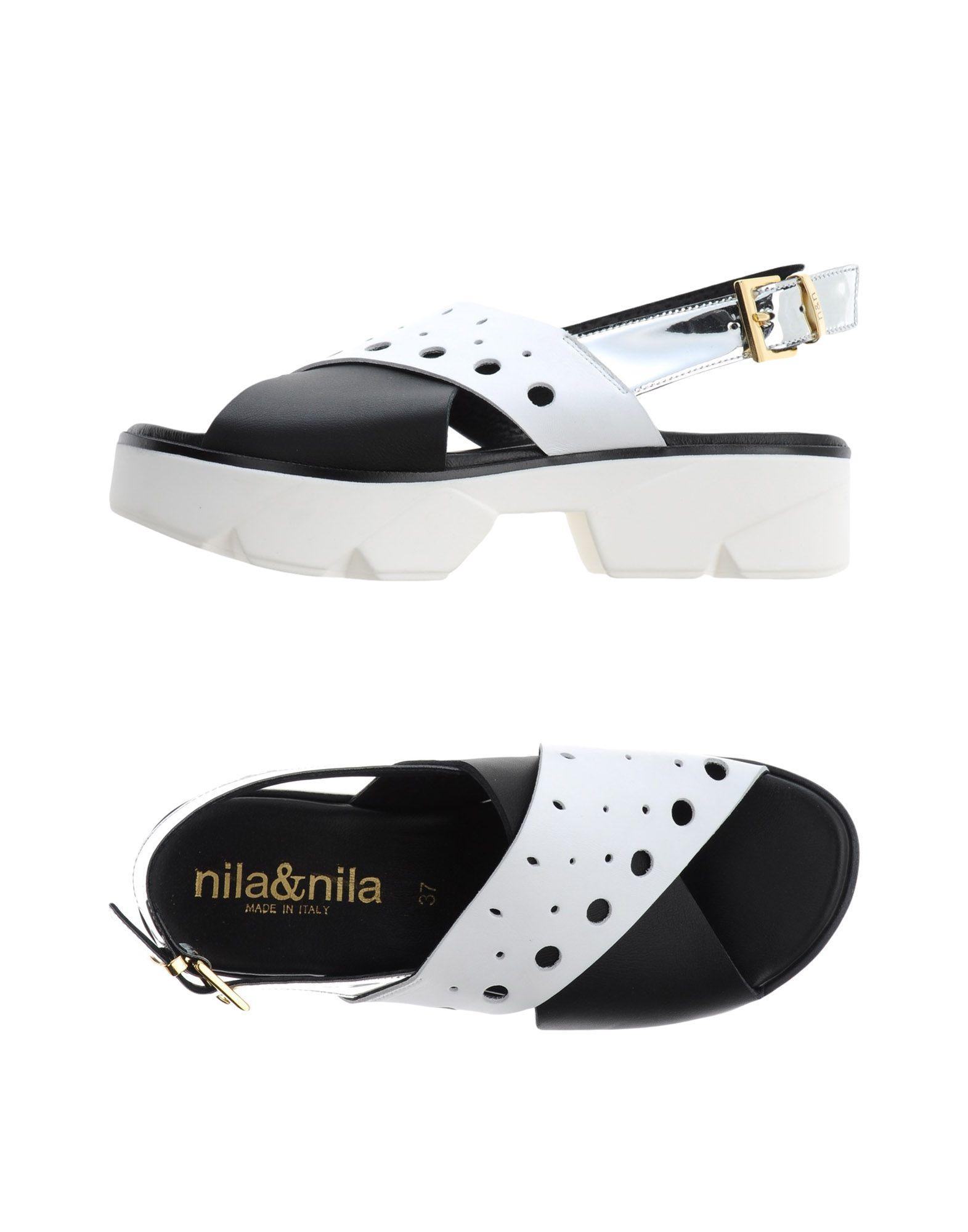 NILA & NILA Сандалии nila nila сандалии гладиаторы