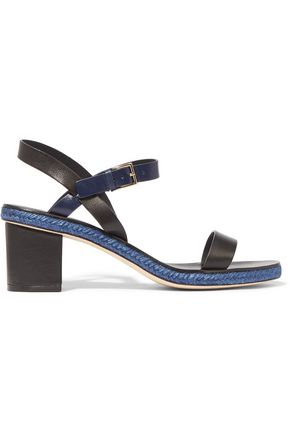 TORY BURCH Malaga two-tone leather sandals