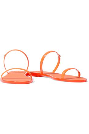 TORY BURCH Neon rubber sandals