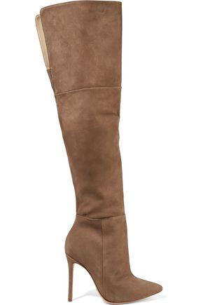 SCHUTZ Germana suede over-the-knee boots