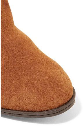 SCHUTZ Silman braided suede ankle boots