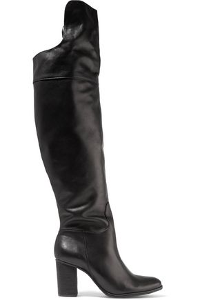 SCHUTZ Fullara leather over-the-knee boots
