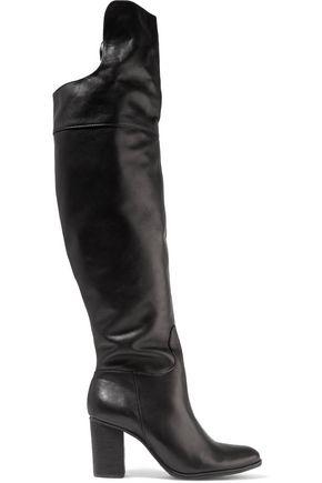 SCHUTZ Fullara leather over-the-knee boots