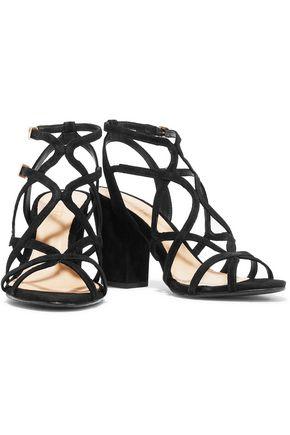 SCHUTZ Lynne suede sandals