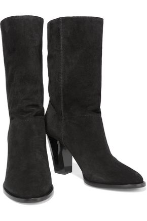 JIMMY CHOO Music suede ankle boots