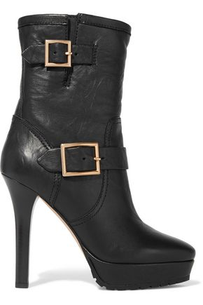 JIMMY CHOO LONDON Dylan leather boots