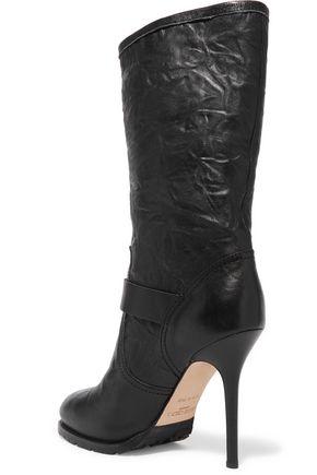 JIMMY CHOO LONDON Galen leather boots