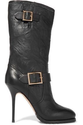 JIMMY CHOO LONDON Galen leather boots