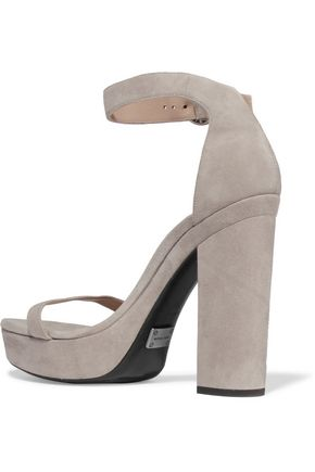 MICHAEL KORS COLLECTION Adelina suede platform sandals