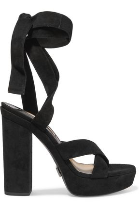MICHAEL KORS COLLECTION Alyce lace-up suede sandals