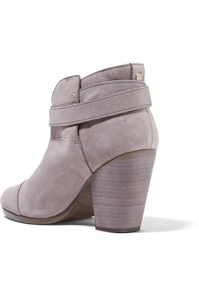 RAG & BONE Harrow nubuck ankle boots