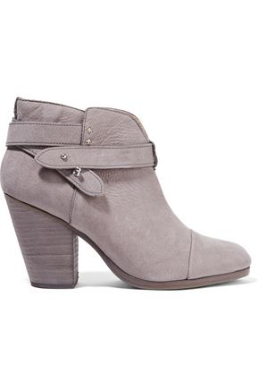 RAG & BONE Harrow nubuck ankle boots