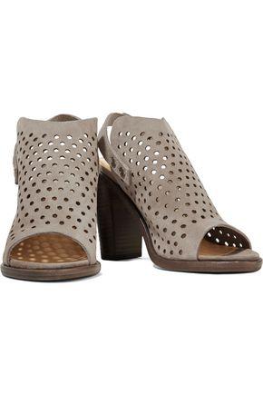 RAG & BONE Wyatt perforated suede sandals