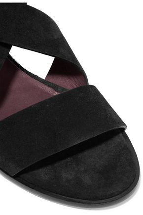 RAG & BONE Madeira buckled suede sandals