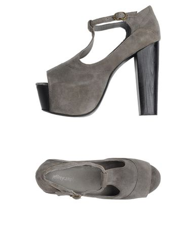 Купить Женские сандали JEFFREY CAMPBELL серого цвета