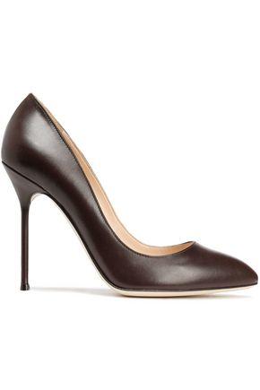 SERGIO ROSSI Godiva leather pumps
