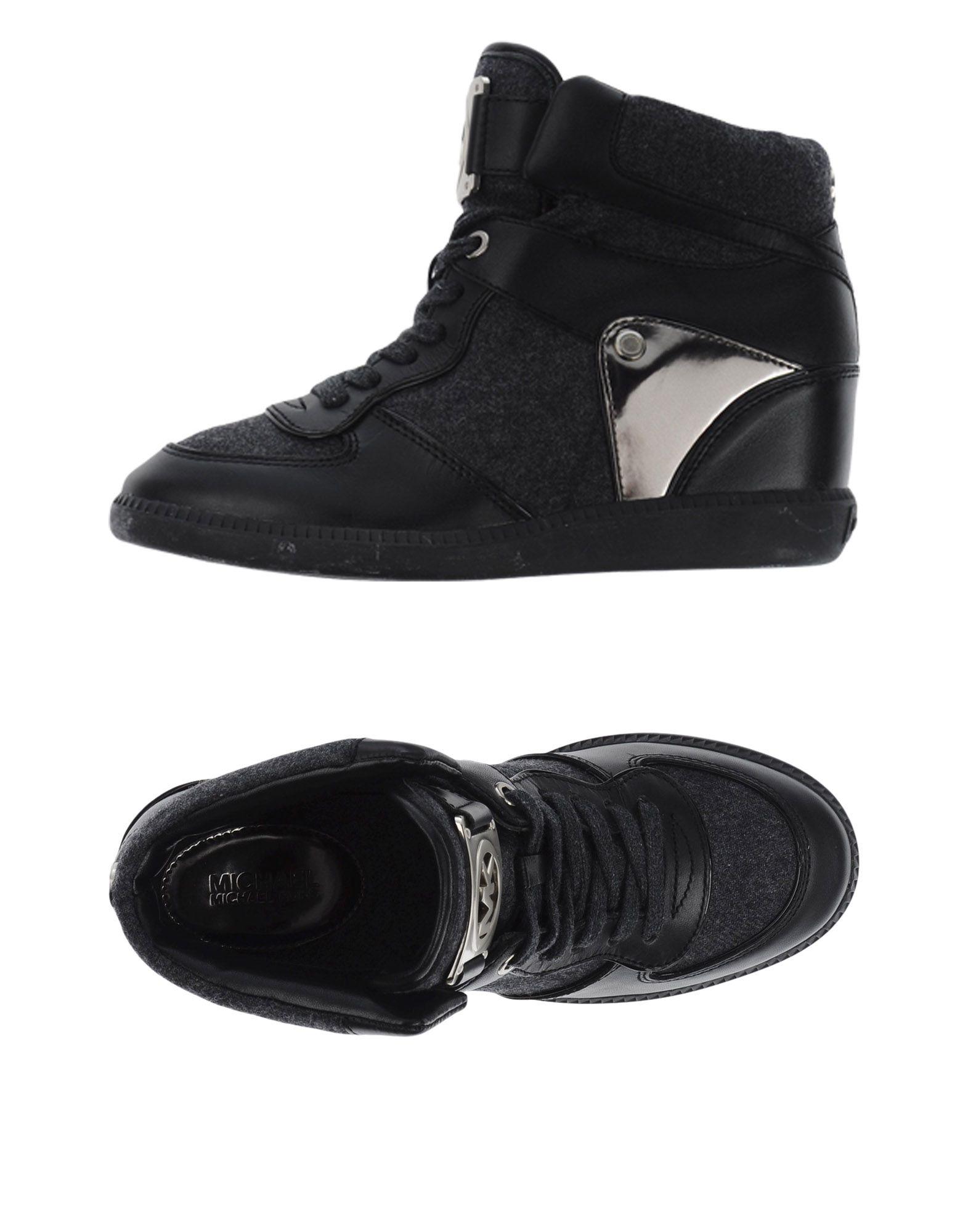 MICHAEL MICHAEL KORS Высокие кеды и кроссовки кроссовки michael michael kors michael michael kors mi048awuwp63
